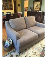 Charcoal Gray Loveseat - $247.50