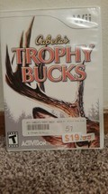 Cabela's Trophy Bucks (Nintendo Wii, 2008) Rated T For Teen - $5.25