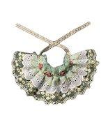 Panda Legends Green Retro Handmade Rose Embroidery Lace Collars Dog/Cat ... - $16.33