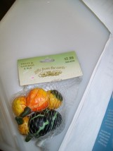 Gifts From the Earth Fruit & Gourds 6 Pcs. - $6.88