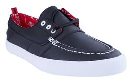 Diamond Supply Co. Hombre Negro Tech Tuff Yacht Club Barco Zapatos Nuevo en Caja