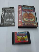 Garfield caught in the act - Sega Genesis authentic - $8.99