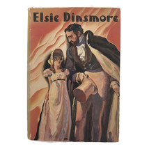 Vintage Elsie Dinsmore Girls Series Book Martha Finley Saalfield Helene ... - $13.98