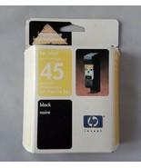 Hp 45 Cartucho de Tinta Negra Impresora Inyección Genuino Caducidad 2/08 - $29.86