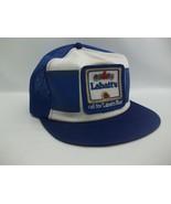 Vintage Labatt's Blue Beer Patch Hat K Brand Snapback Trucker Cap - $39.99