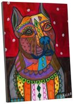 "Pingo World 0413Q3IHNTY ""Heather Galler American Staffordshire Dog"" Gall... - $43.51"