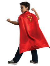 NEW Unisex Kids DC Comics Dress Up Costume Halloween Superman Cape One Size - $3.65