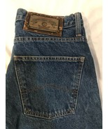 Armani Jeans Est 1981 Stretch Fit Zipper Fly Denim Jean Pants Excellent - $47.49