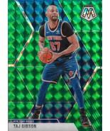 Taj Gibson Mosaic 19-20 #121 Green Mosaic Prizm New York Knicks Chicago ... - $1.25