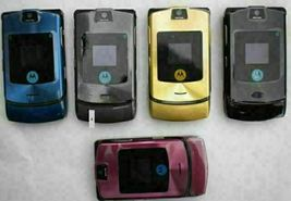 Authentic ORIGINAL Motorola V3i Pinky Flip 100% UNLOCKED 2G Cell Phone WARRANTY image 4