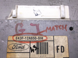 1984..84  FORD F150  ENGINE CONTROL MODULE/COMPUTER..ECU..ECM..PCM - $25.25