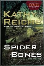 Spider Bones by Kathy Reichs Temperance Brennan Crime Murder Forensics M... - $5.00