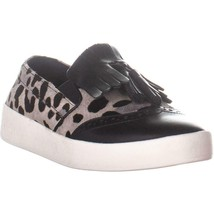 Cole Haan Grandpro Spettatore Kiltie Slip On Sneakers, Nero/Bianco, 8.5 US - $107.99