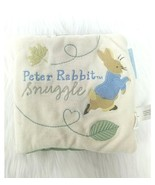 Beatrice Potter Peter Rabbit Soft Baby Book Snuggle Easter Plush Toy B209 - $9.97