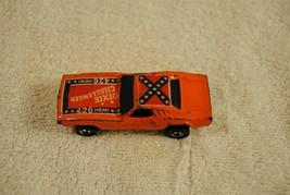 Vintage 1970 Hot Wheels Orange 426 Hemi Dixie Challenger  Hong Kong image 1