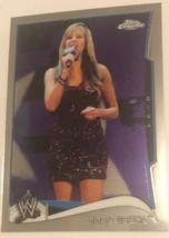 Lilian Garcia 2014 Topps Chrome WWE Card #80 - $1.97