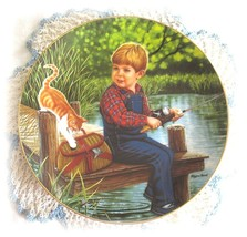 Higgins Bond JEREMY From Treasured Days Hamilton Collection Porcelain Plate - £10.80 GBP