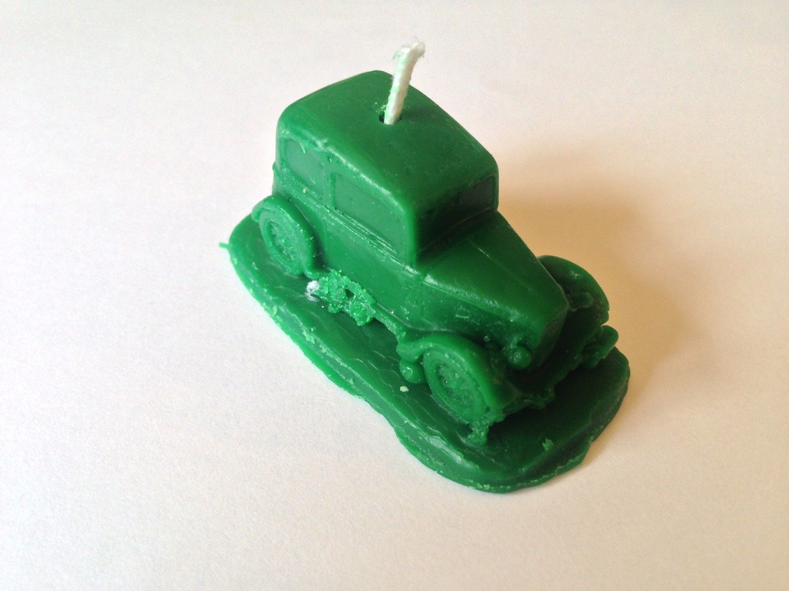 Austin Seven Ruby ref10  car candle cake toppers in GREEN birthday,party