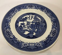Vintage Royal China Ironstone Blue Willow Ware Dinner Plate (USA) - $11.88