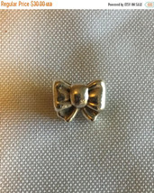 ON SALE Genuine Pandora .925 Silver Gift Bow Charm Bead  791204 - $28.95