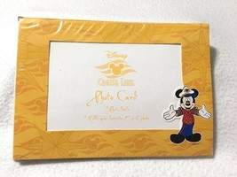 NEW Disney Cruise Line 4 Yellow Photo Cards Envelopes 4 x 6 Sealed Souvenir - $9.89