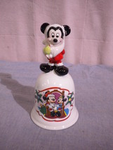 Schmid Merry Mickey Claus #2220 Limited Edition Bell - $29.99