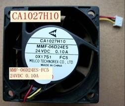 Mitsubishi Converter fan CA1027H10 MMF-06D24ES-FC5 24V 0.10A 2months warranty - $36.92