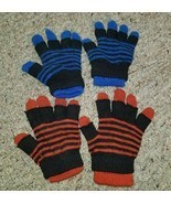 OLD NAVY Lot of Convertible Double Layer Little Boys Gloves Fits Ages 2-8  - $2.88