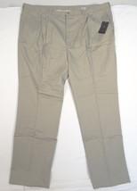 Nike Golf Khaki Pleated Golf Pants Mens 52 Waist Unhemmed Length 36 1/2 NWT - $70.53