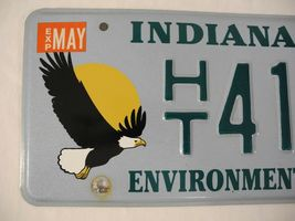 Indiana Environment License Plate Bald Eagle Specialty 1999 2000 image 3