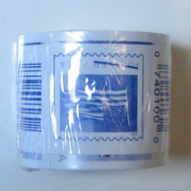 1 roll - 100 USPS Forever Stamps. 2019 sealed coil. - $39.95
