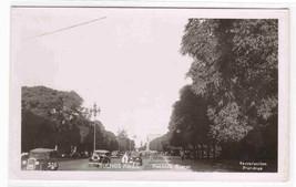Avenida Alvear Buenos Aires Argentina RPPC postcard - $5.45