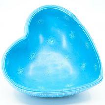 Vaneal Group Hand Carved Kisii Soapstone Blue Heart Decorative Candy Bowl Kenya image 3