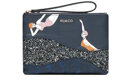 MIMCO Leather Swimmers Zip pouch. BRABD NEW & STILL WRAPPED. - $31.89