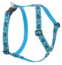 "LupinePet Originals 1"" Turtle Reef 24-38"" Adjustable Roman Dog Harness f... - $35.06 CAD"