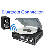 Boytone BT-37B-C Bluetooth 3-Speed Stereo Turntable, Wireless Connect to... - $87.09