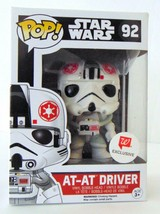FUNKO POP STAR WARS SERIES #92 AT AT DRIVER WALGREENS EXCLUSIVE - $13.39