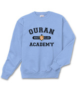 Ouran Host Club Academy Crewneck Sweatshirt  S-3XL Carolina Blue/Lightblue - $30.00+