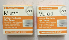 Lot Of 2 Murad Instant Radiance Eye Cream 0.12 oz Each -  NIB - $17.81