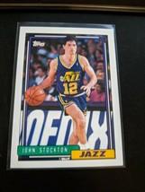1992-93 Topps Basketball Pack Fresh Mint John Stockton Utah Jazz - $17.99