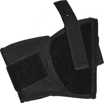 Black Ankle Gun Holster Tactical Law Enforcement Police Security CCW Con... - $10.99