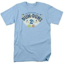 Dum-Dums T-shirt 2 Cents retro candy classic graphic tee DUM117 Blue image 2