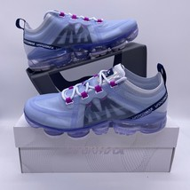 Nike Air Vapormax 2019 Football Grey Purple Black AR6632-023 Women's Siz... - $150.00