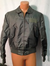 SUMMER AIR FORCE FLYERS COAT JACKET CWU-36/P LARGE ITEM# H38 - $79.15