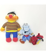 "Disney Aladdin Genie 7"" Stuffed Animal Toys Vintage Lot Of Plush Ernie C... - $17.40"