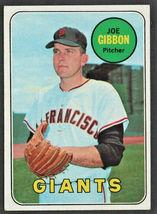 San Francisco Giants Joe Gibbon 1969 Topps Baseball Card # 158 - $0.99