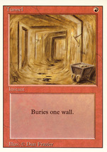 Magic: The Gathering 3rd Edition - Tunnel - $0.25