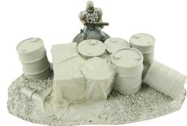 JR Miniatures 28mm Sci-Fi Terrain: Supply Marker - Industrial Barrels