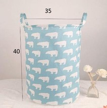 New Waterproof Laundry Hamper Clothes Storage Baskets Home Clothes Barre... - $24.15 CAD