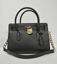 Michael Kors East West Hamilton Saffiano Leather Satchel/Shoulder Bag in... - $225.00